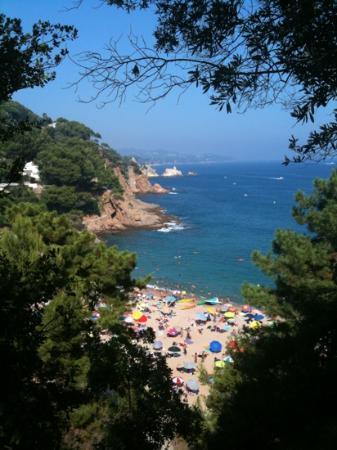 Blaucel: plage san cristobal a blanes