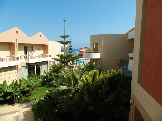 Castro Beach Hotel: Widok z balkonu