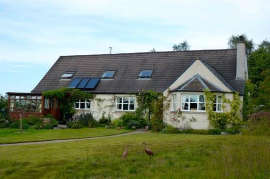 Craigiewood: vista frontale casa