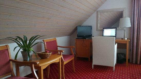 Hotel Schloessli Ipsach : Desk Area