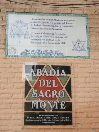 Sacromonte Abbey : Museo-Sala Capitular, Iglesia y Santas Cuevas