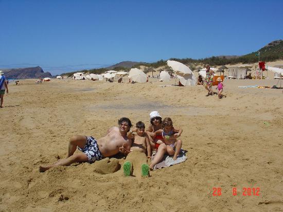 Pestana Porto Santo All Inclusive : Praia do Hotel
