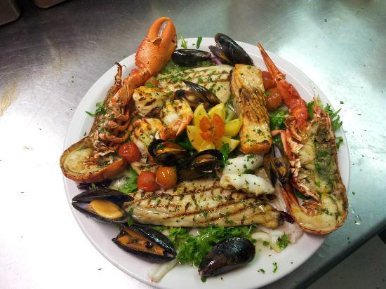Eataly ristorante: mix grill fish