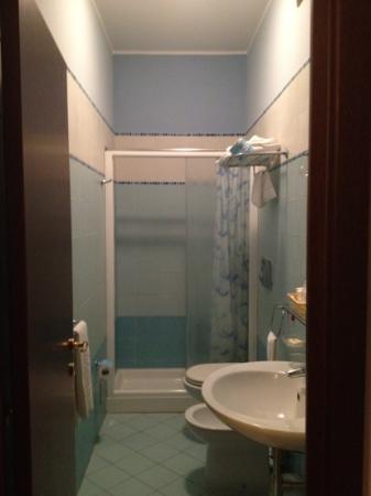 Hotel Teocrito: bagno con tutti i confort