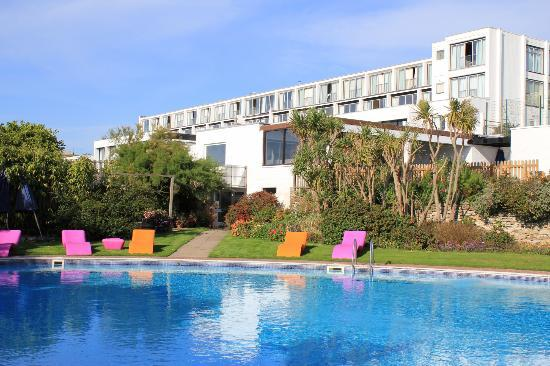 Bedruthan Hotel & Spa: The pool