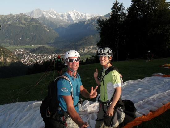 Swiss Paragliding: Before the flight
