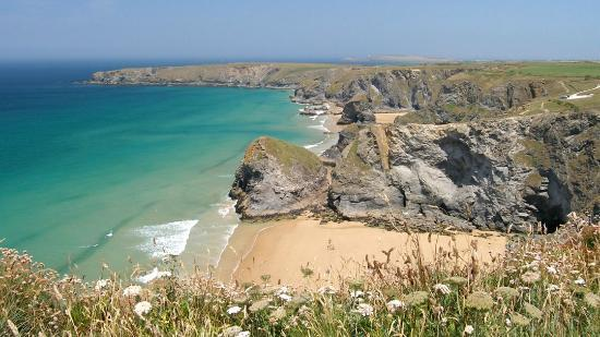 Bedruthan Hotel & Spa: The beach