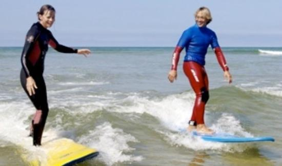 Bedruthan Hotel & Spa: Surf lesson