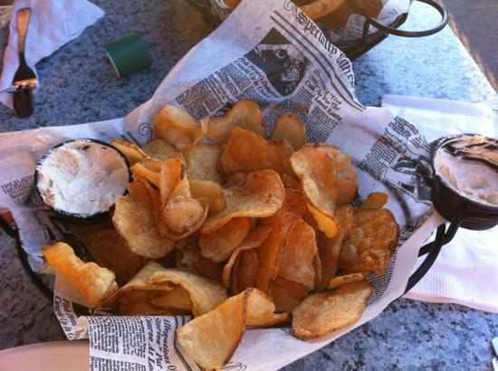 McCarthy's: chips and dip