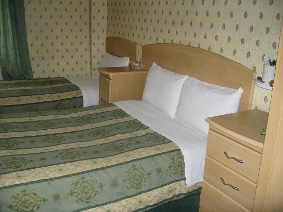 European Hotel : Triple room (double and single bed)
