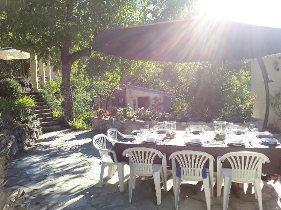 Maison Castellane: Terras