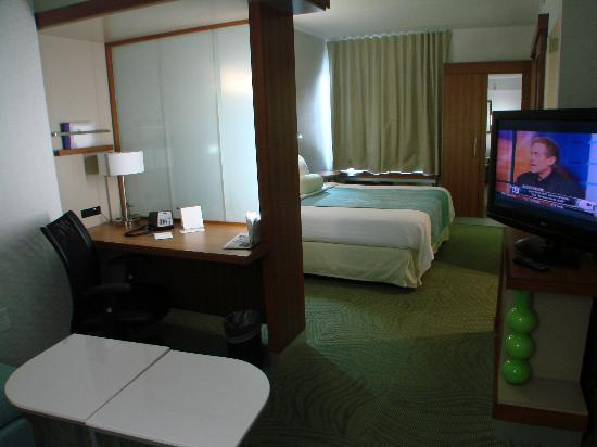 SpringHill Suites Durham Chapel Hill : Very comfortable, clean room