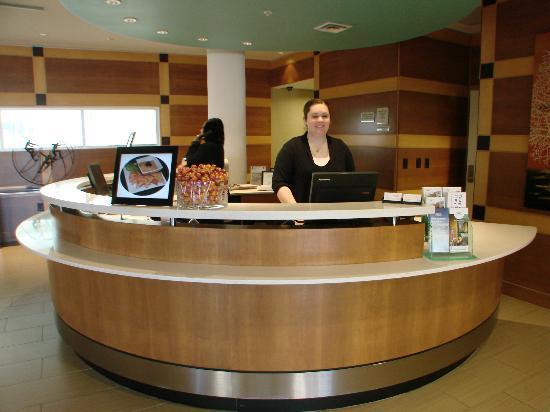 SpringHill Suites Durham Chapel Hill : Friendly staff