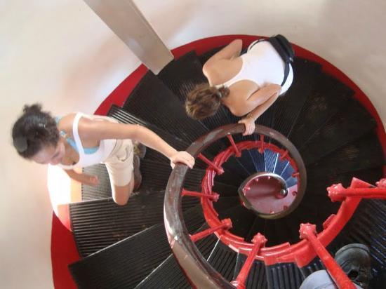 Castelhanos Lighthouse: Por dentro do Farol.