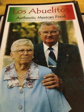 Los Abuelitos Mexican Restaurant : Menu