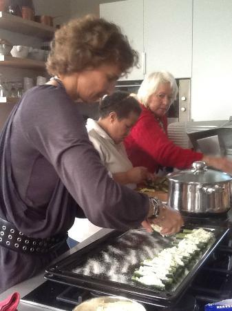 Enrica Rocca Cooking School Cape Town: The opening of the school in Cape Town