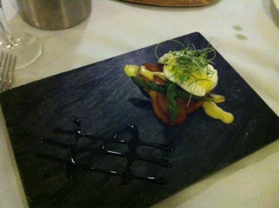 Best Western Plus Aston Hall Hotel: Our Asparagus starter