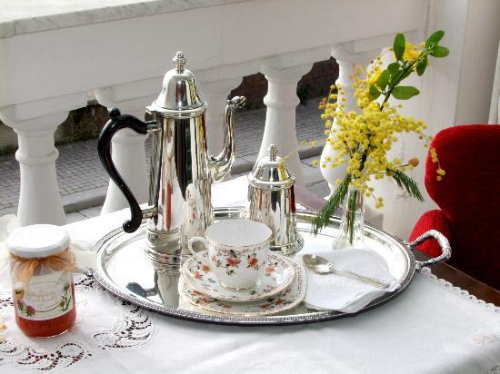 Dumbolo B&B in Villa Bice : La colazione è il compendio di accoglienza, raffinatezza e selezione dei prodotti