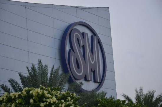SM Mall of Asia: SM logo