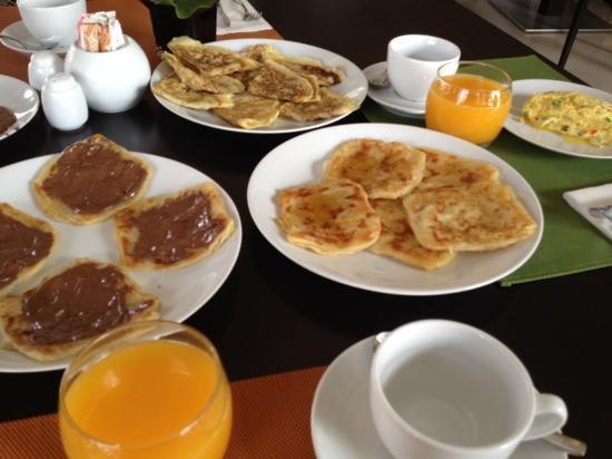 Pullman Marrakech Palmeraie Resort and Spa: petit déjeuner excellent