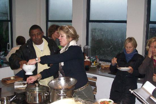 Enrica Rocca Cooking School Cape Town : The opening of the school in Cape Town