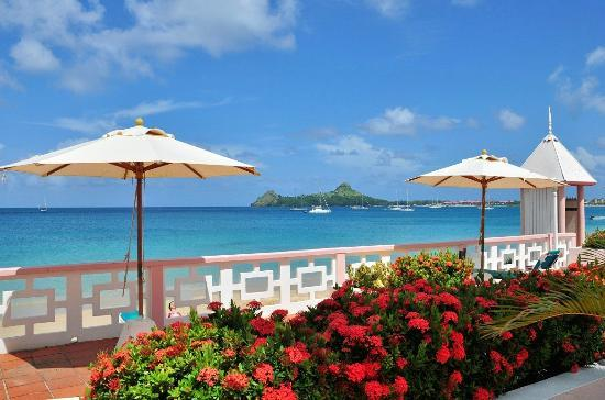 St. Lucian by Rex Resorts: View towards Pigeon islands