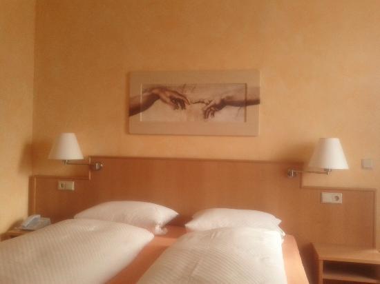 Hotel Bremerhof Biergarten: interno delle camere