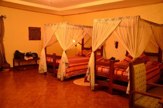 "Kudu Lodge & Camp: les lits ""twins"" - petits et durs"