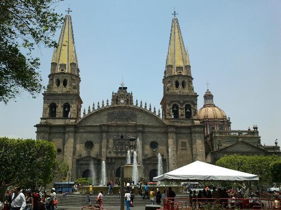Guadalajara Cathedral: Vista della facciata