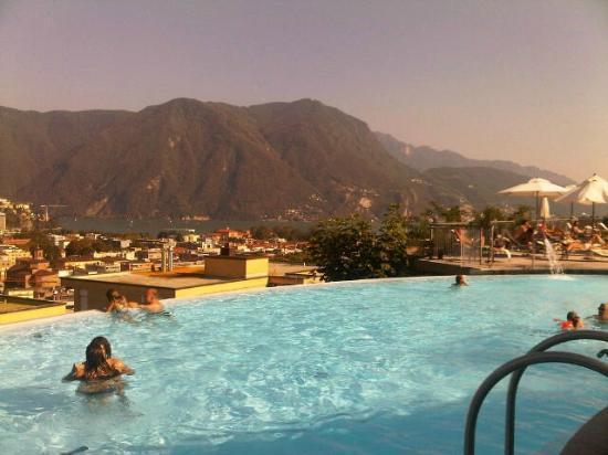 Villa Sassa Hotel, Residence & Spa : Lovely pool & great view
