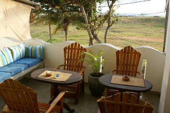 Seagreen Guesthouse: terrasse commune