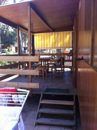 Camping Residence Il Tridente: veranda