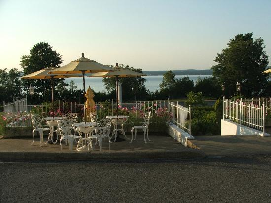"Bay Inn Petoskey: This is the view I didn't get to see from the ""private suite"""