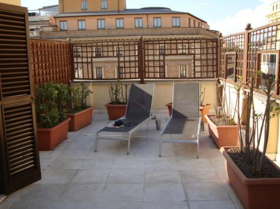 Hotel delle Nazioni: Relaxing Terrace