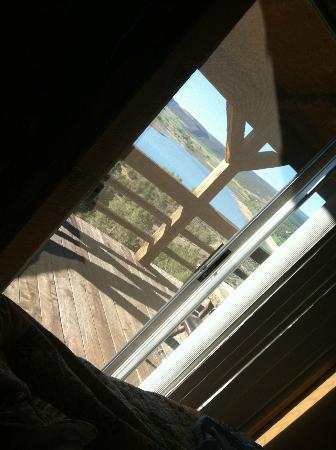 Last Frontier Lodge: This is the view when you wake up in the morning!