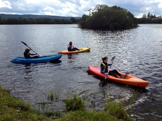 Finn Lough: Kayaks on the Lough