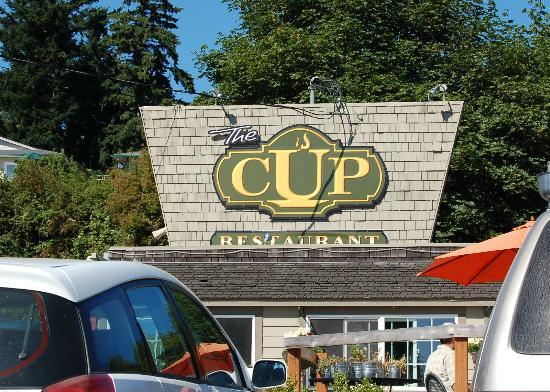 The Cup : View from the street