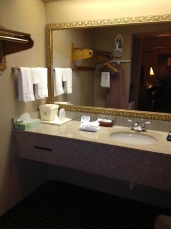 Best Western Lumberton: Bathroom