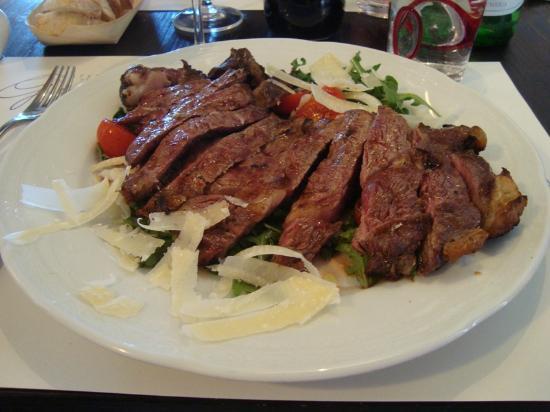 Osteria Del Grillo: eccellente tagliata!