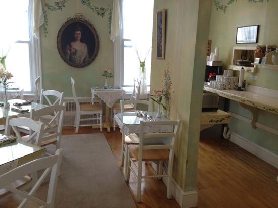 Admiral Fitzroy Inn: Sala breakfast