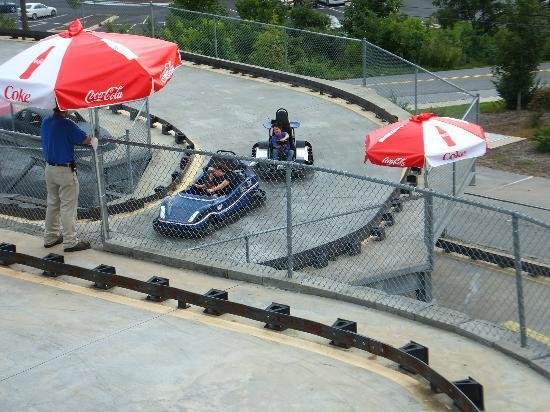 Asheville's Fun Depot: Outdoor go-karts