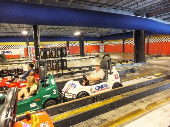 Asheville S Fun Depot Indoor Go Karts