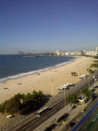 Arena Copacabana Hotel: Vista da cobertura - Dia