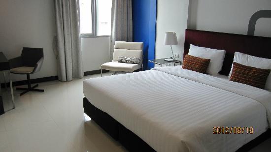 FX Hotel Metrolink Makkasan: ベッドは同じ大きさ《キングサイズ》
