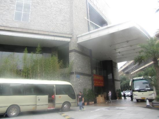 Donlord International Hotel : View from outside