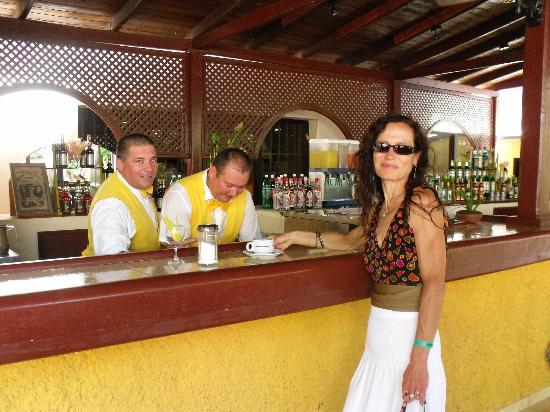 Brisas Santa Lucia: At the main Bar