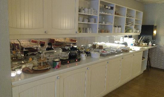 Hotel Aberg: Breakfast buffet