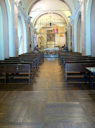 interno del Santuario S. Anna di Vinadio