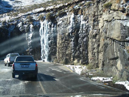 AfriSki Ski and Mountain Resort: ice