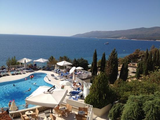 Valamar Bellevue Hotel & Residence: see view from the room